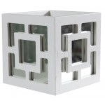 Trellis box and mirror
