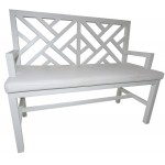 Trellis Bench without fabric